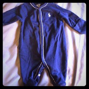Ralph Lauren onesie newborn